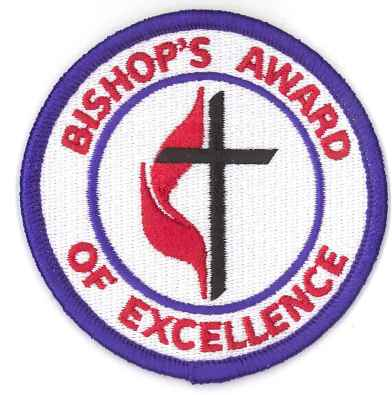 Bishop's Award of Excellence patch
